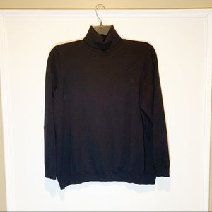 Women's PS Ralph Lauren Black Turtleneck Sweater